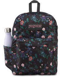 Jansport Superbreak Plus Enchanted Garden Backpack - Black