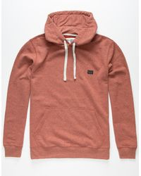 Billabong All Day Mens Hoodie - Red