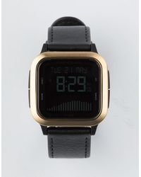 Rip Curl Next Tide Leather Watch - Black