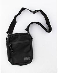 Hex Aspect Black Crossbody Bag