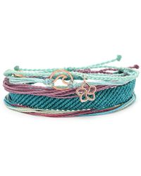 Pura Vida - Rose Waves Pack Bracelets - Lyst