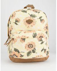 O'neill Sportswear - Shoreline Sunflower Backpack - Lyst