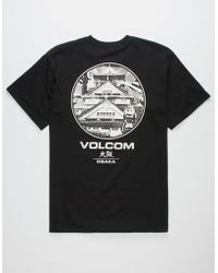 Volcom - Vague Mens T-shirt - Lyst
