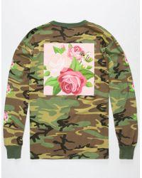 Asphalt Yacht Club - Flower Hive Mens T-Shirt - Lyst