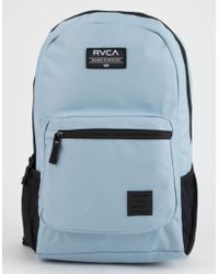 RVCA - Estate Denim Blue Backpack - Lyst