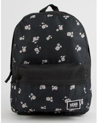 Vans - Realm Classic Botanical Ditsy Backpack - Lyst