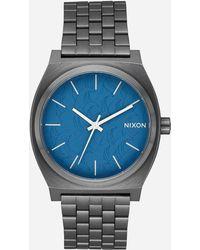 Nixon - Time Teller Navy & Gunmetal Watch - Lyst