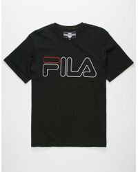 Fila - Borough Mens T-shirt - Lyst