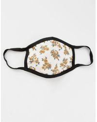 O'neill Sportswear Floral Fashion Face Mask - Multicolor