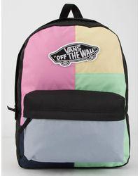 Vans Realm Checkwork Backpack - Multicolor