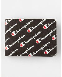 Champion Advocate Black Wallet