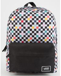 Vans - Party Checker Realm Classic Backpack - Lyst