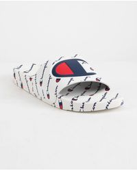 Champion - Ipo Repeat White Mens Sandals - Lyst