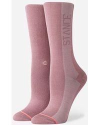 Stance - Judge Me Womens Socks - Lyst