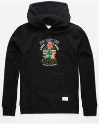 Huf X Woodstock Mens Hoodie - Black
