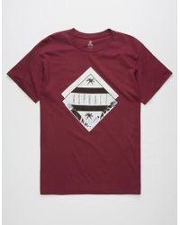 Asphalt Yacht Club - Crisp Diamond Mens T-Shirt - Lyst