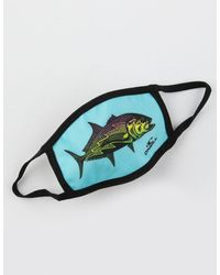 O'neill Sportswear Kids Fish Fashion Face Mask - Blue
