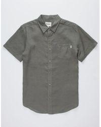 Rhythm - Apartment Mens Shirt - Lyst