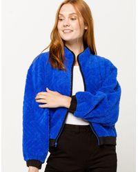 Hurley Sherpa Blue Womens Jacket - Black
