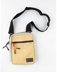 Hex Aspect Tan Crossbody Bag - Multicolor