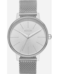 Nixon | Kensington Milanese Silver Watch | Lyst