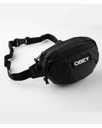 Obey Commuter Waist Bag - Black