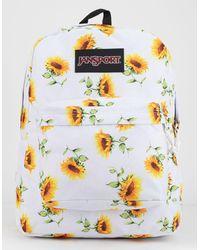 Jansport Black Label Superbreak Sunflower Backpack - Multicolor