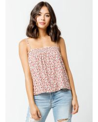 Others Follow - Lucy Womens Tank Top - Lyst