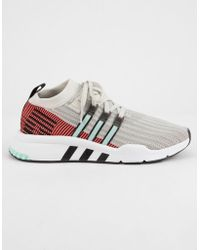 outlet store 7e2cd 71bab adidas - Eqt Support Mid Adv Primeknit Shoes - Lyst