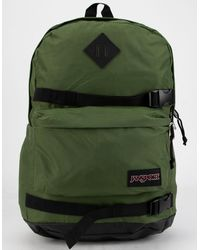 Jansport West Break Olive Backpack - Green