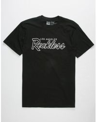 new style af26b 414ad Young   Reckless - Og Mens T-shirt - Lyst