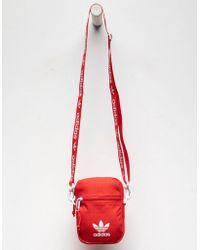 Lyst - adidas Originals Originals Camo Print Festival Multi Way Bag 4398992bccb6b