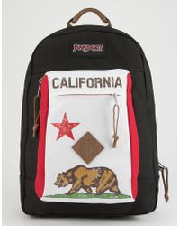 Jansport - Reilly Red New California Republic Backpack - Lyst