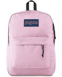 Jansport Superbreak Pink Mist Backpack