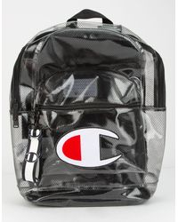 Champion Supercize Clear Black Backpack