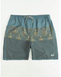 Rhythm - Nambassa Mens Beach Shorts - Lyst