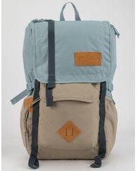 Jansport Hatchet Moonhaze & Oyster Backpack - Blue