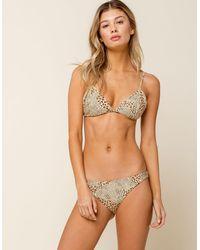 Amuse Society Rory Cheeky Bikini Bottoms - Brown