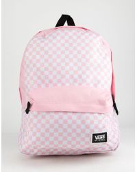 c99c3fb7fb4 Vans - Realm Classic Fairy Tale Checkerboard Backpack - Lyst