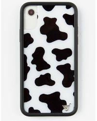 Wildflower Moo Moo Iphone X/xs Case - Black
