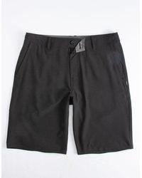 O'neill Sportswear Reserve Heather Black Mens Hybrid Shorts