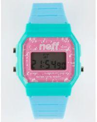 Neff - Flava Digital Watch - Lyst
