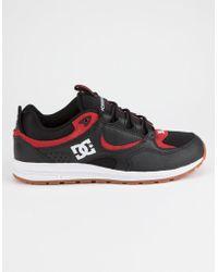 DC Shoes - Kalis Lite Black & Athletic Red Mens Shoes - Lyst
