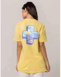 Pink Dolphin - Panorama Womens Tee - Lyst