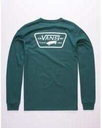 41cd7a847a79 Men's Vans Long-sleeve t-shirts On Sale - Lyst