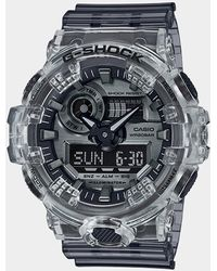 G-Shock Ana Digi Clear Skeleton Shock Resistant Watch - Multicolor