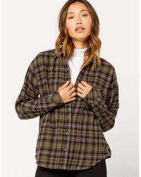 eee4bb43 Brimms Ii Womens Flannel Shirt - Multicolor