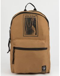Volcom - Peace Sign Backpack - Lyst