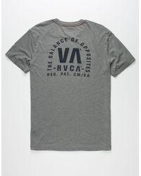 Short Sleeve T-shirt Black $32 RVCA Stealth Seal