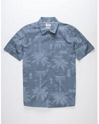 Hurley - Asylum Mens Shirt - Lyst